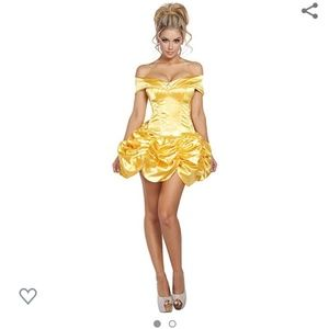 Roma Belle Foxy Fairytale Cutie Costume, M